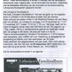 2011-09-Dorpennieuws-Lithoijen-Tentoonstellings-Bruidsparen