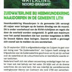 2020-08-Lither-Courant-Heemkundekring-lezing-Zuiderwaterlinie