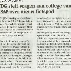 2021-04-07-Regio-Oss-VDG-stelt-vragen-aan-BW-over-nieuw-fietspad-Lith-Oss