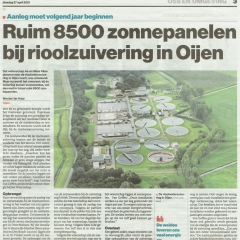 2021-04-27-Brabants-Dagblad-Zonnepanelen-rioolzuivering-Oijen