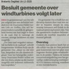 2020-12-16-Brabants-Dagblad-Besluit-gemeente-over-windturbines